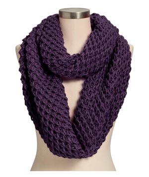 Old Navy Honeycomb-Stitch Infinity Scarf