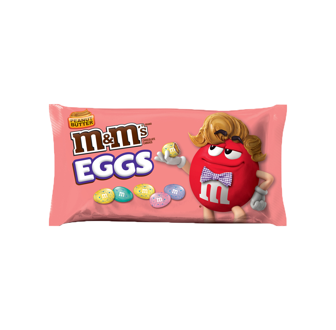 M&M's Peanut Butter Speckled Eggs