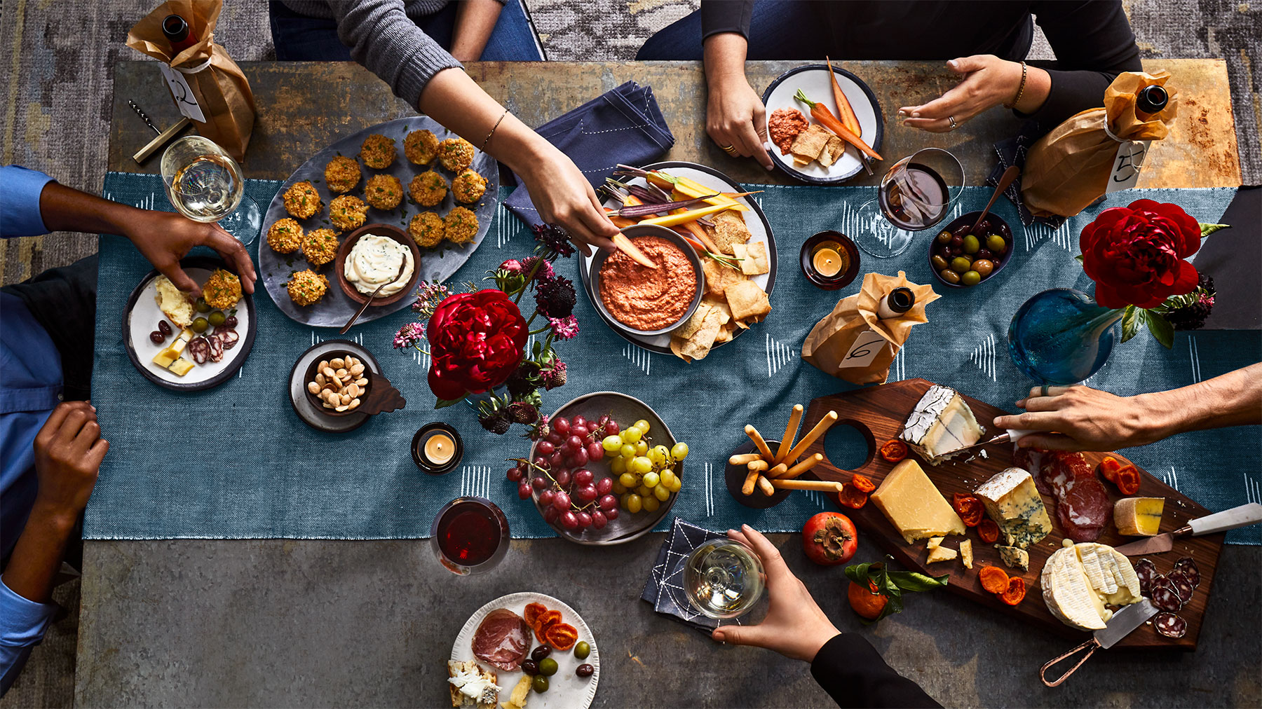 Party With a Purpose Recipes | Real Simple March 2020