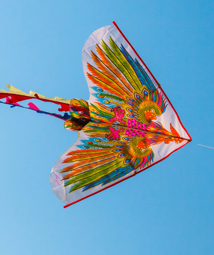 spring activities checklist: fly a kite