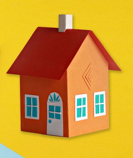 Steps to buying a house - checklist, guide, how-to (house and llist)
