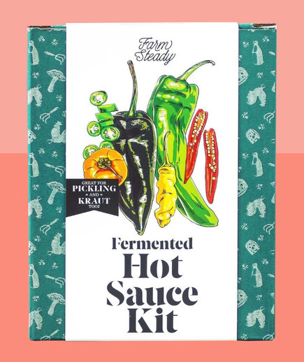 Valentine's Day gifts for him - gifts for husband, boyfriend (hot sauce fermenting kit)