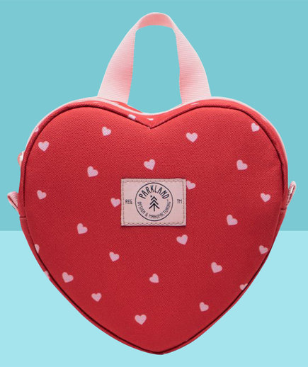 Valentine's Day gifts for kids - Parkland heart backpack tout