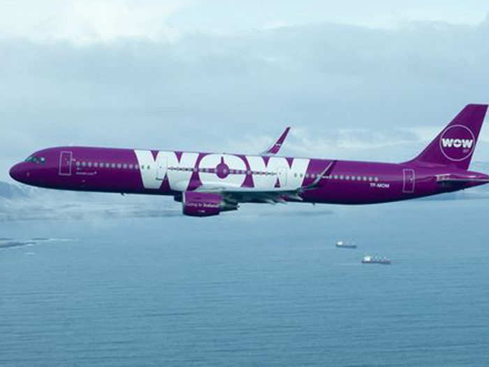 Wow Airlines Plane