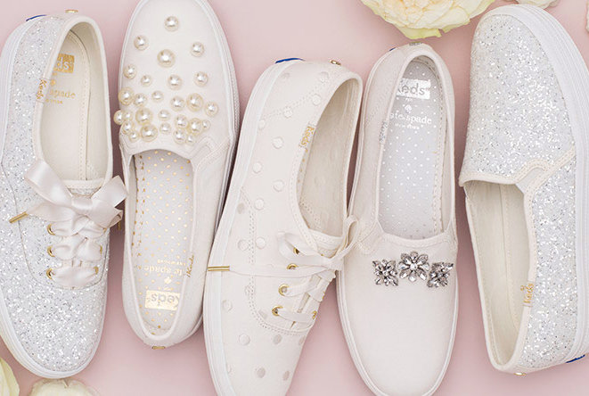 Keds And Kate Spade Launch Dreamy Line Of Wedding Sneakers Real