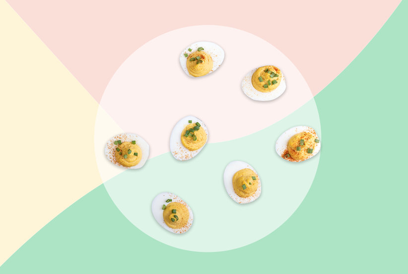 The DIY Deconstructed Deviled Egg Bar Is One of the Greatest Hostess Hacks of All Time