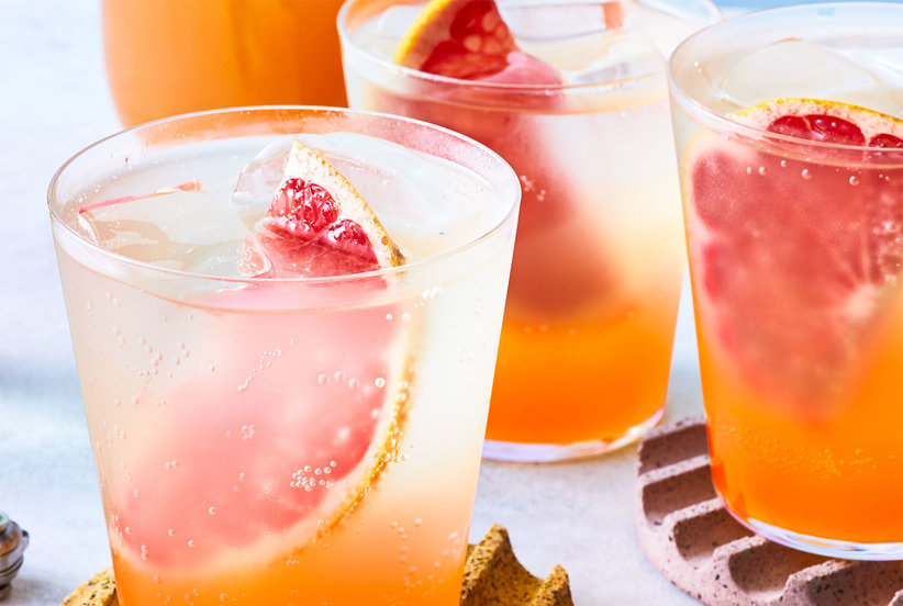 Ginger-Grapefruit Shrub