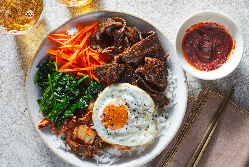 Steak House Bibimbap Bowls