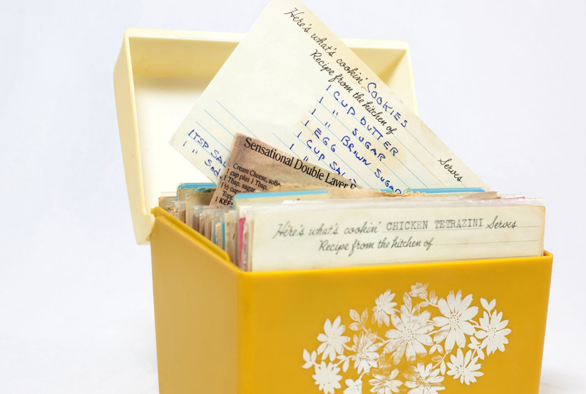 How to Preserve Your Family Recipe Cards—and Why They Might Be Priceless Heirlooms