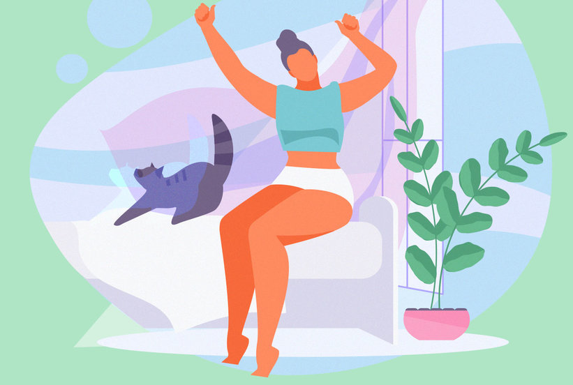 6 Feel-Good Stretches You Should Do Every Night Before Bed