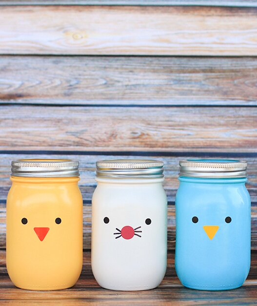 7 Mason Jar Easter Crafts To Spruce Up Your Brunch Table