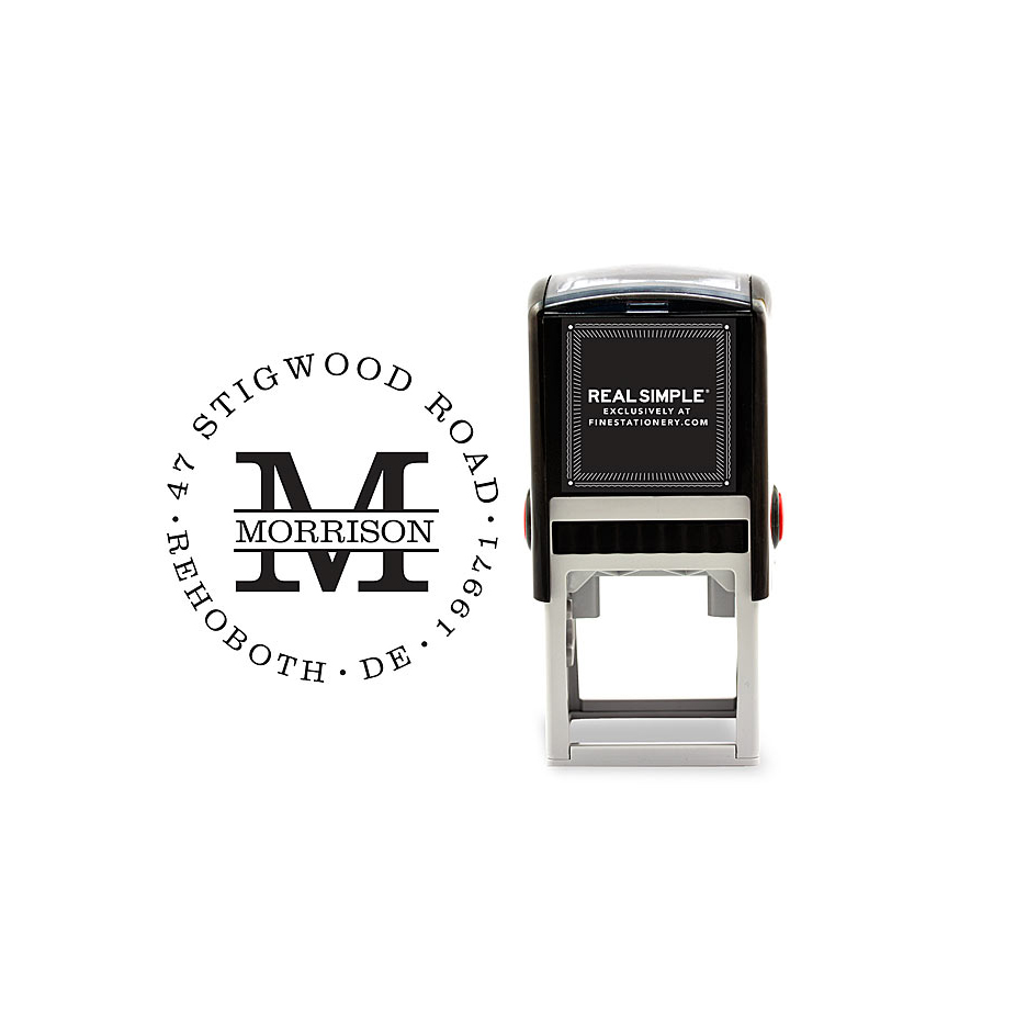 Morrison Personalized Stamp