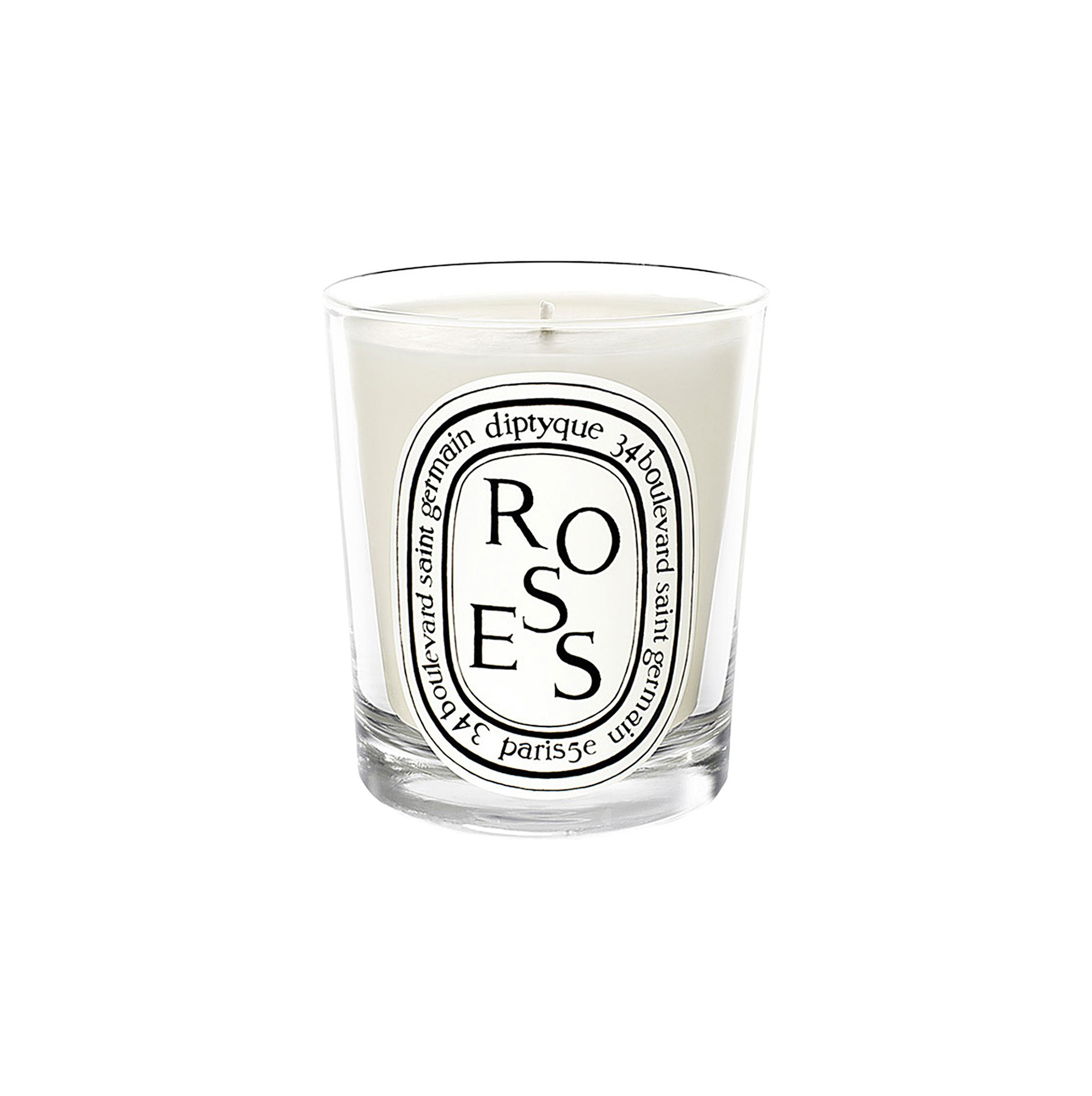Creative Valentines day ideas for her: 'Roses' Scented Candle