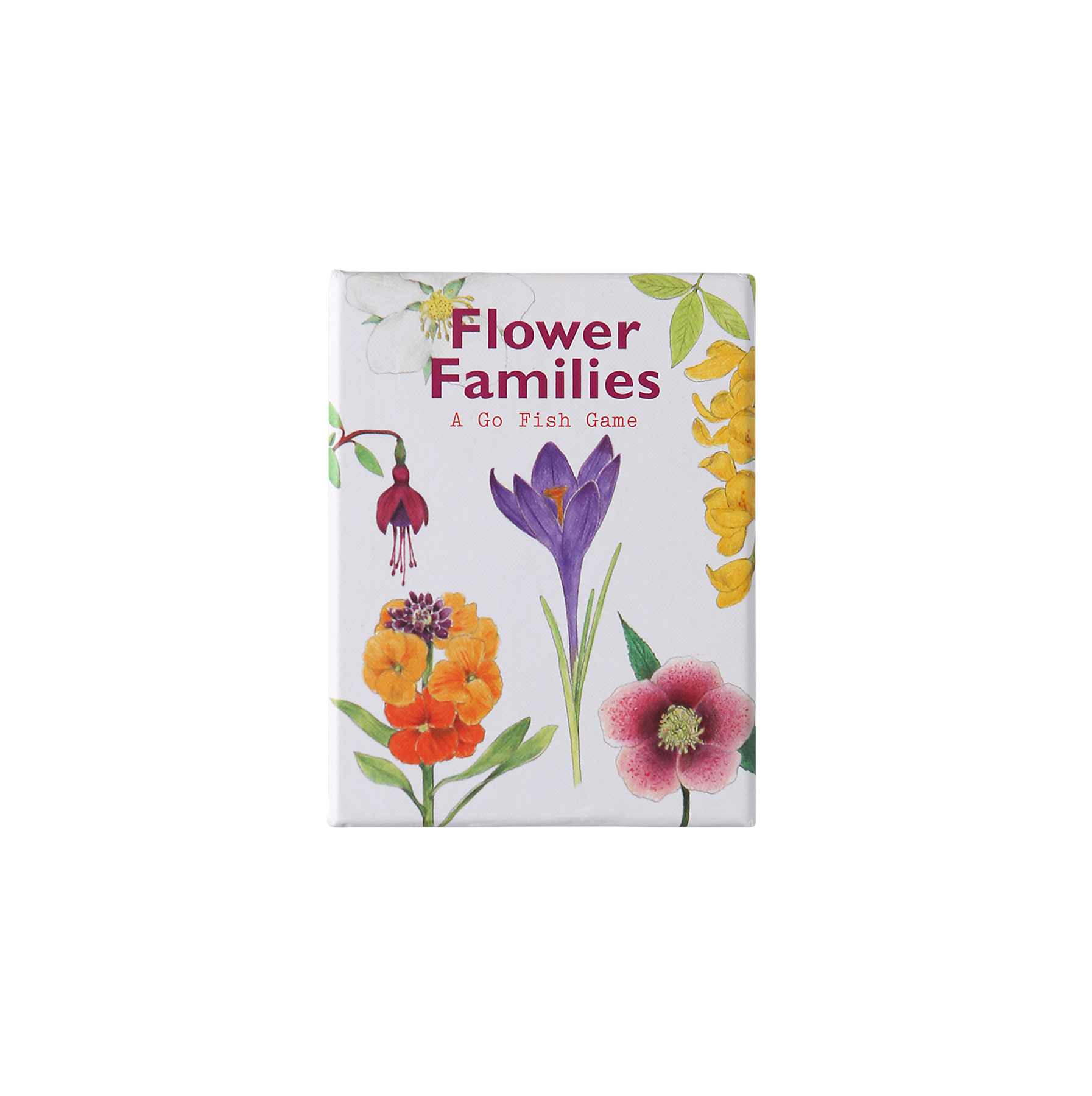 Flower Families Go Fish Game