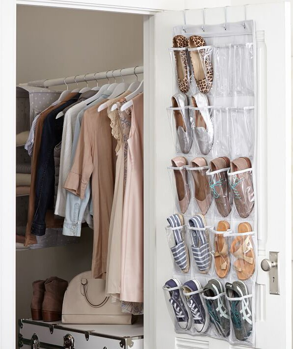 be094e277fd 10 Genius Ways to Double Your Closet Space and Get Ready Faster