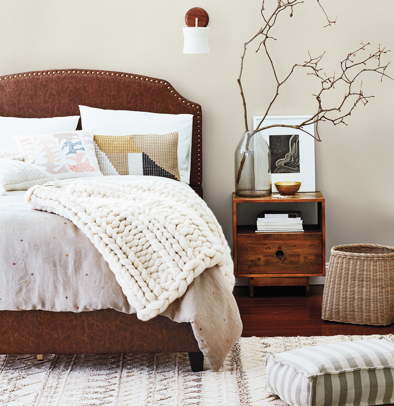 20 Decorating Tricks for Your Bedroom on southwestern bedroom ideas, soothing bedroom color ideas, calm room ideas, bedroom paint color ideas, old hollywood bedroom ideas, calm bedroom color,