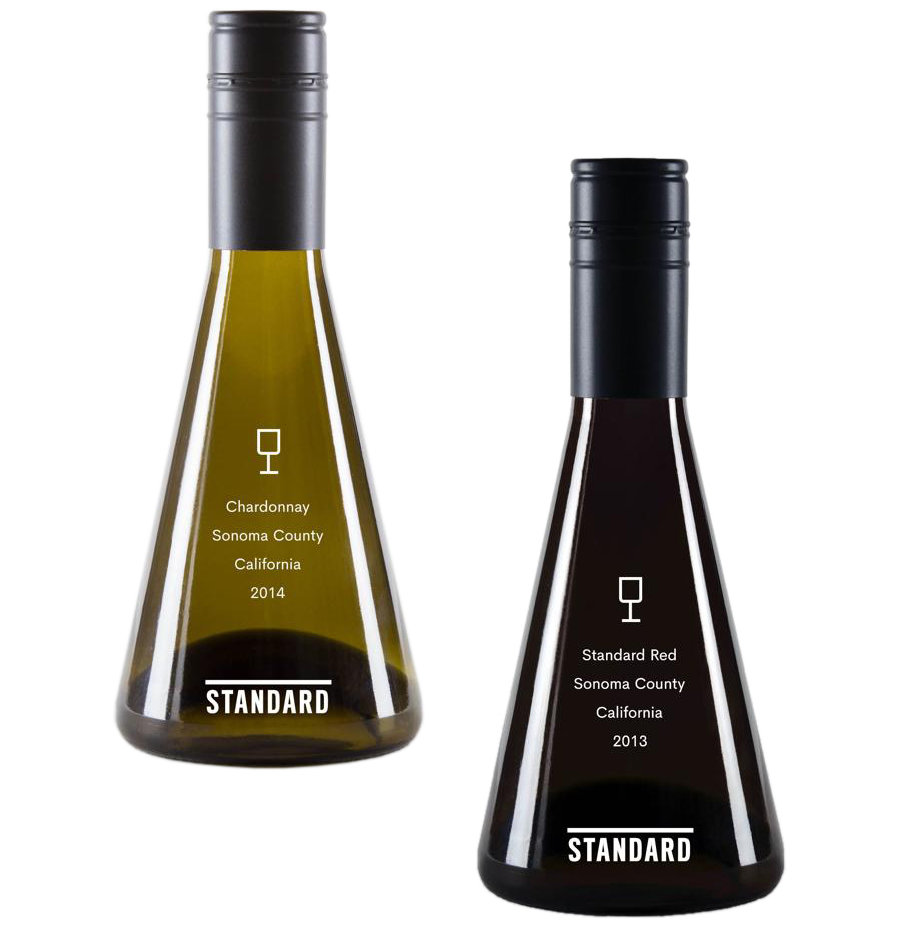 Standard Wines mini bottles