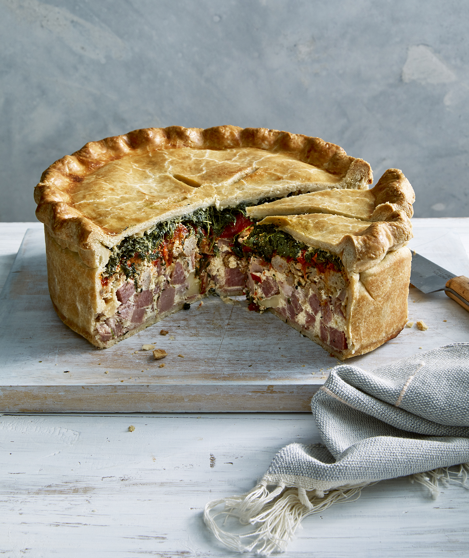 Italian Easter Pie Recipe How To Make Pizza Rustica Real Simple