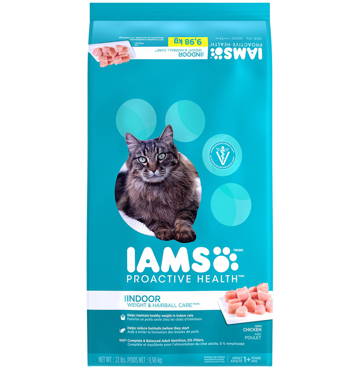 Iams ProActive Health Indoor Weight & Hairball Care