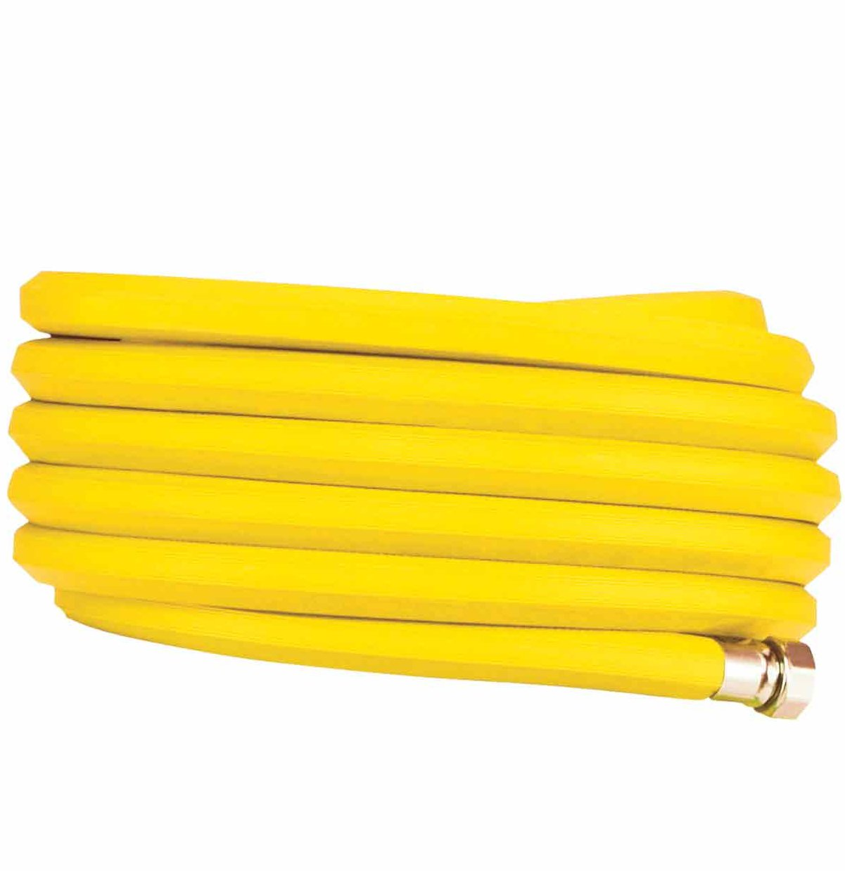 Bright Yellow Garden Hose