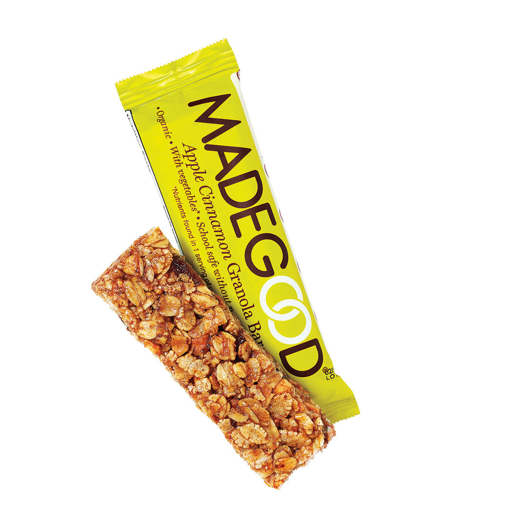 MadeGood Apple Cinnamon Granola Bars