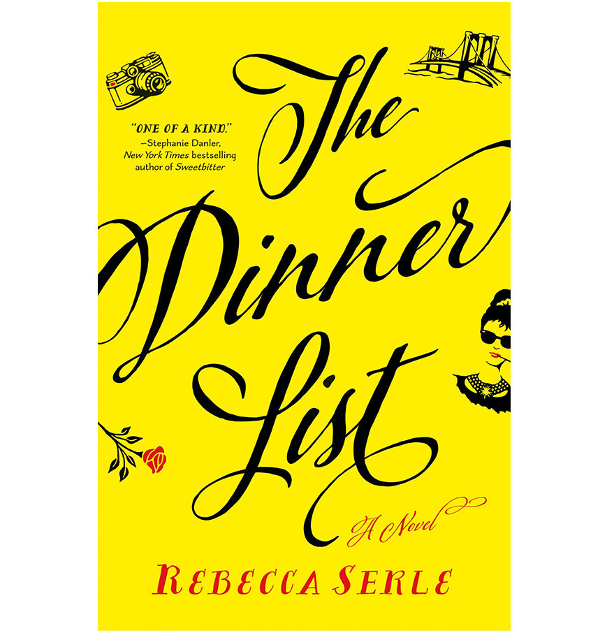 Best Books 2018 The Dinner List, by Rebecca Serle