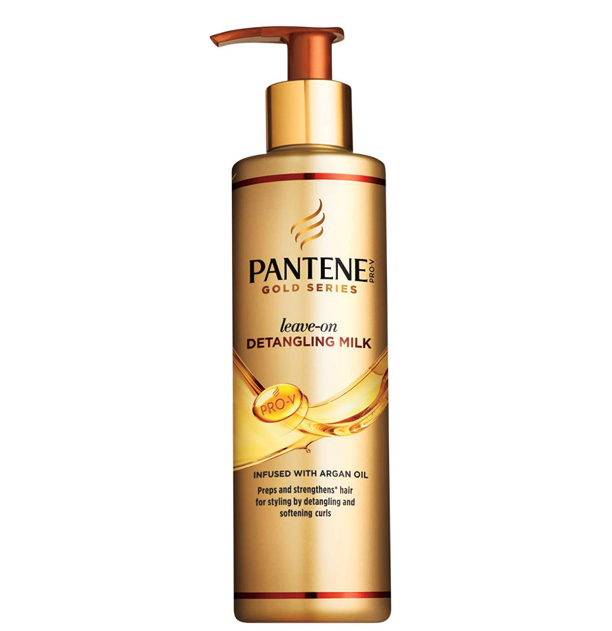 Pantene Gold Series Leave-On Detangling Milk