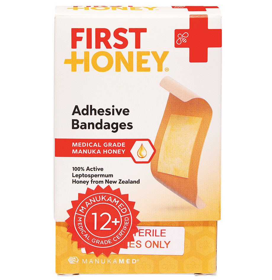 First Honey Adhesive Bandages