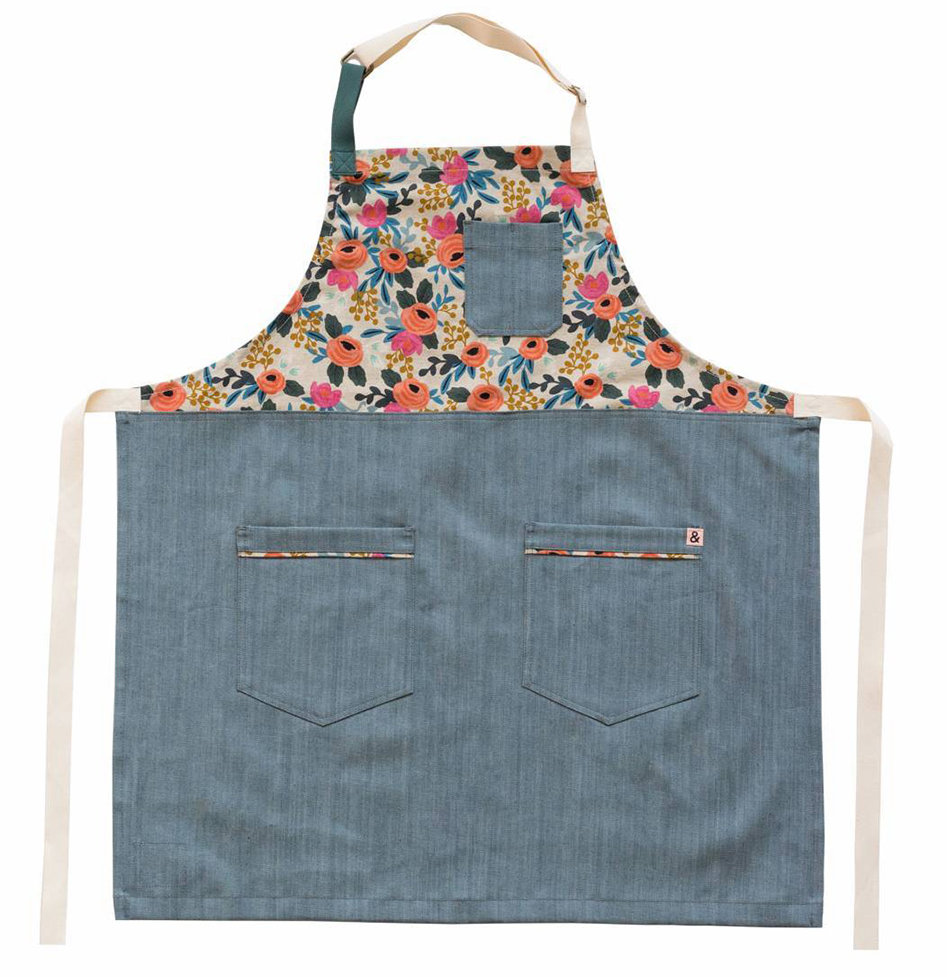 Rifle Paper Co. x Hedley & Bennett Rosa Apron (Adult)