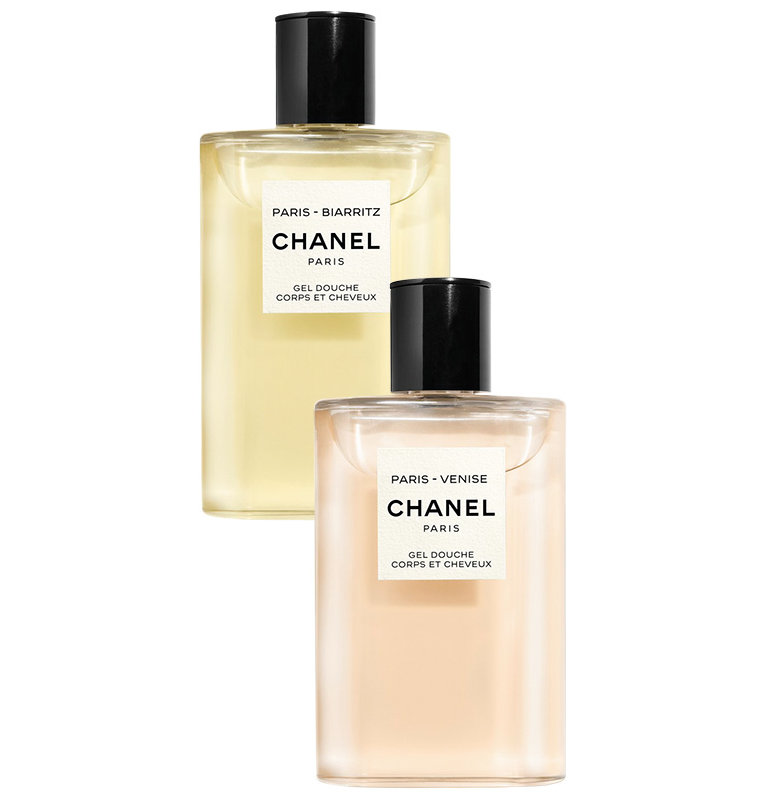 Chanel Shower Gel in Paris-Biarritz and Paris-Venise