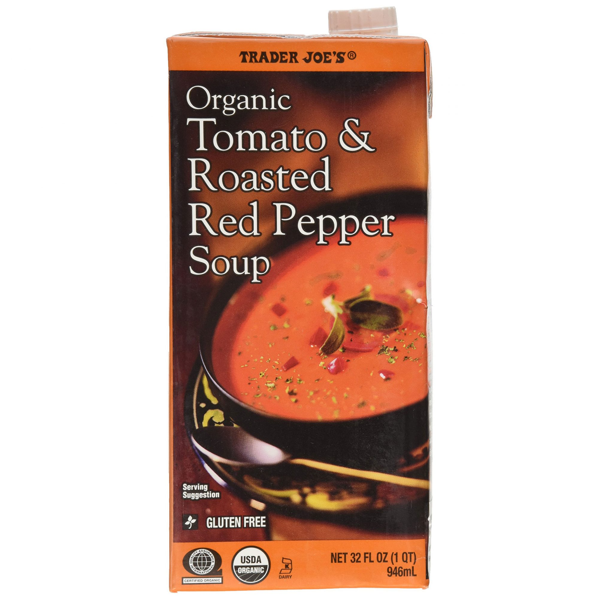 Tomatoes and Roasted Red Pepper Soup