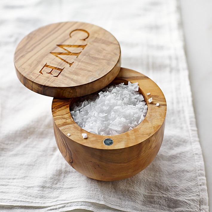 Gifts for Foodies: Olivewood Salt Keeper