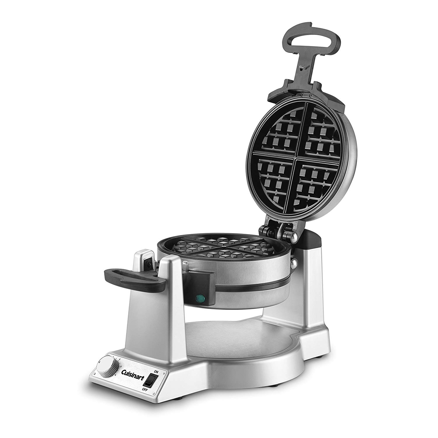 Gift Ideas for Brother: Cuisinart Double Belgian Waffle Maker, Stainless Steel