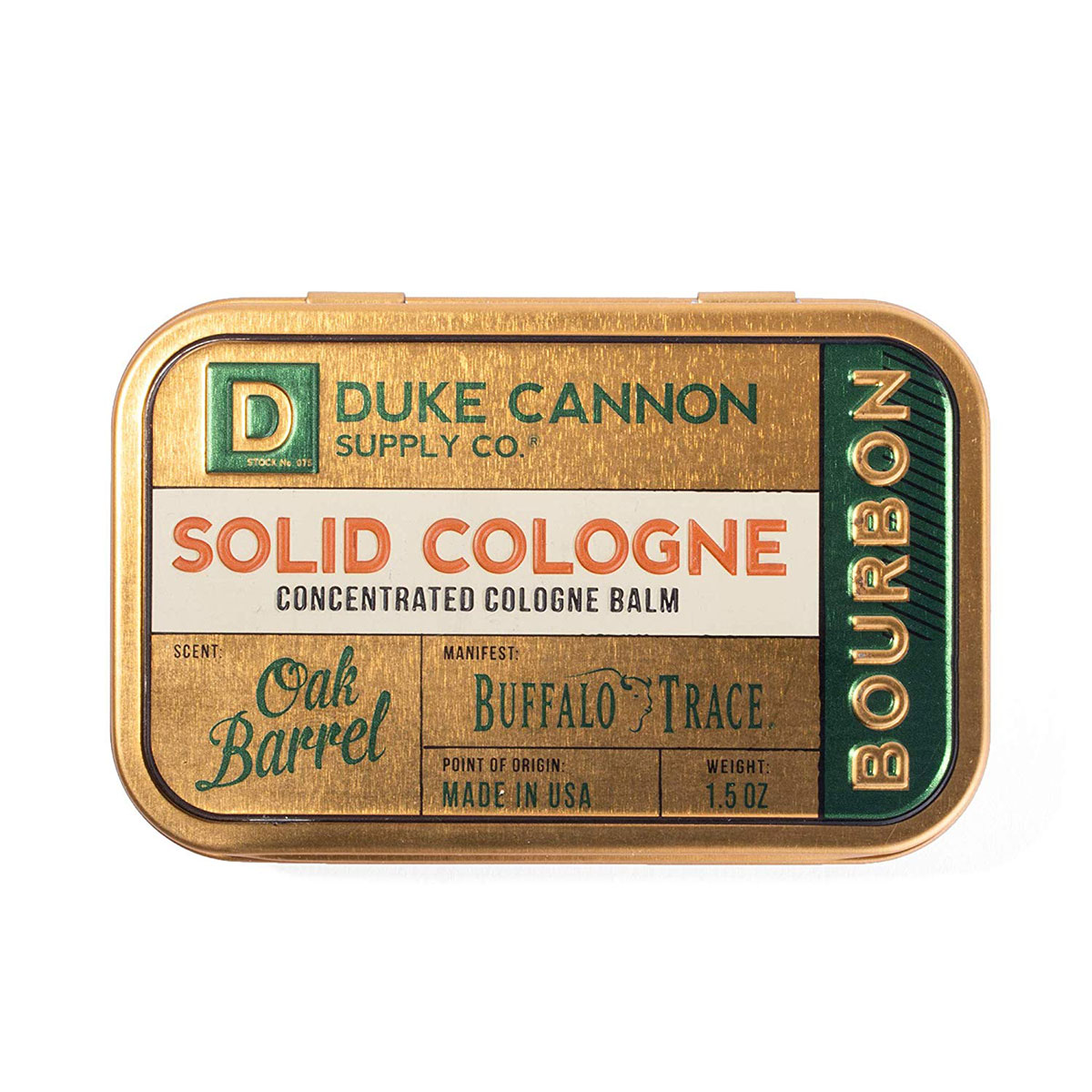Gift Ideas for Brother: Duke Cannon Men's Solid Cologne