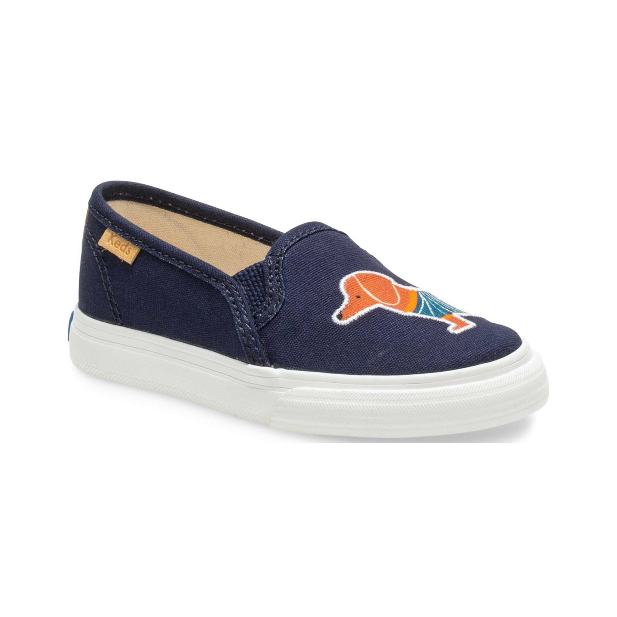 Cool gifts for kids - Rifle Paper Co. Dachshund Little Kid Double Decker Slip-On