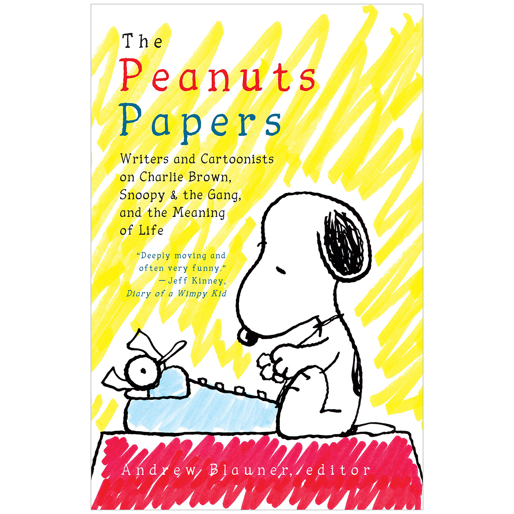 Best Christmas gifts 2019 - The Peanuts Papers: Writers and Cartoonists on Charlie Brown, Snoopy & the Gang, and the Meaning of Life: A Library of America Special Publication by Andrew Blauner