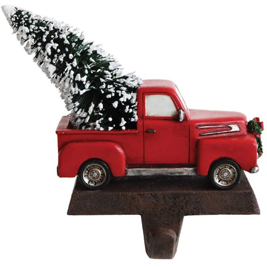 Christmas stocking holders - Creative Co-op Vintage Pickup Truck Christmas Stocking Holder