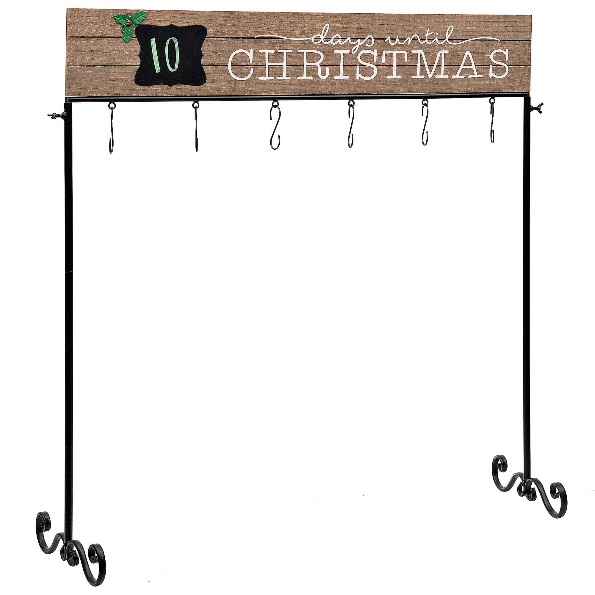 Christmas stocking holders - Kirkland's Days Until Christmas Stocking Holder