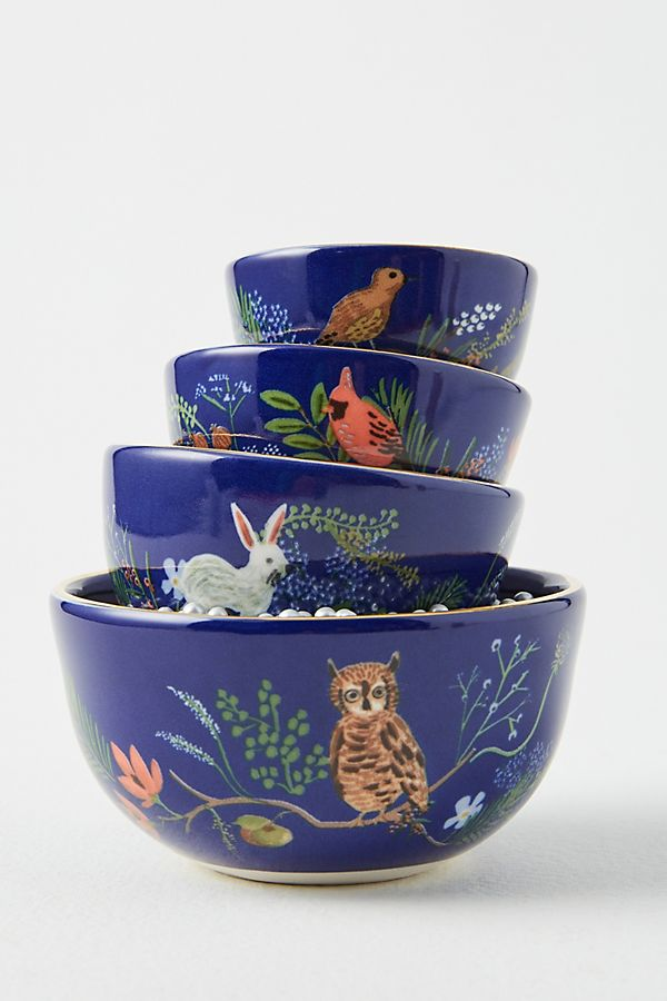 Whimsical, Patterned Measuring Cups