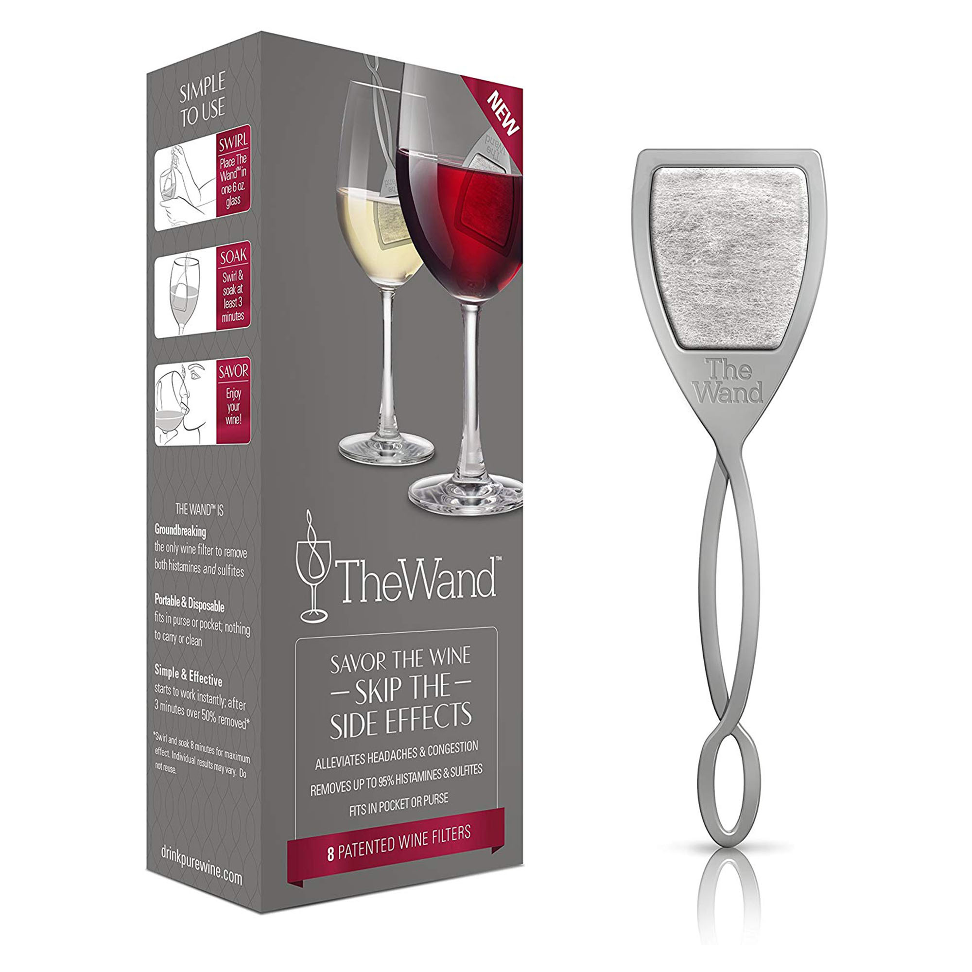White Elephant Gift Ideas - The Wand Wine Filter