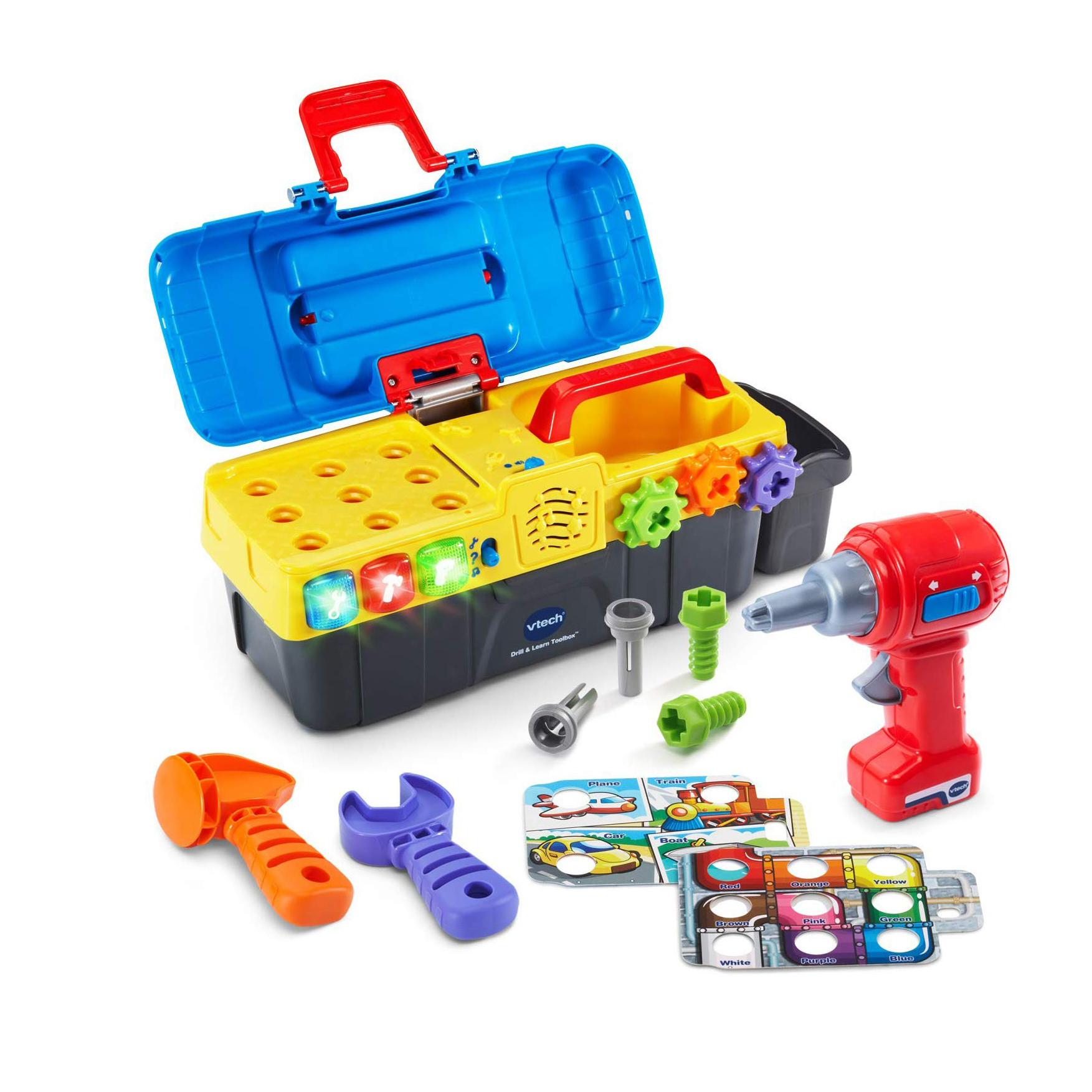 Cool gifts for kids - Vtech Drill & Learn Toolbox