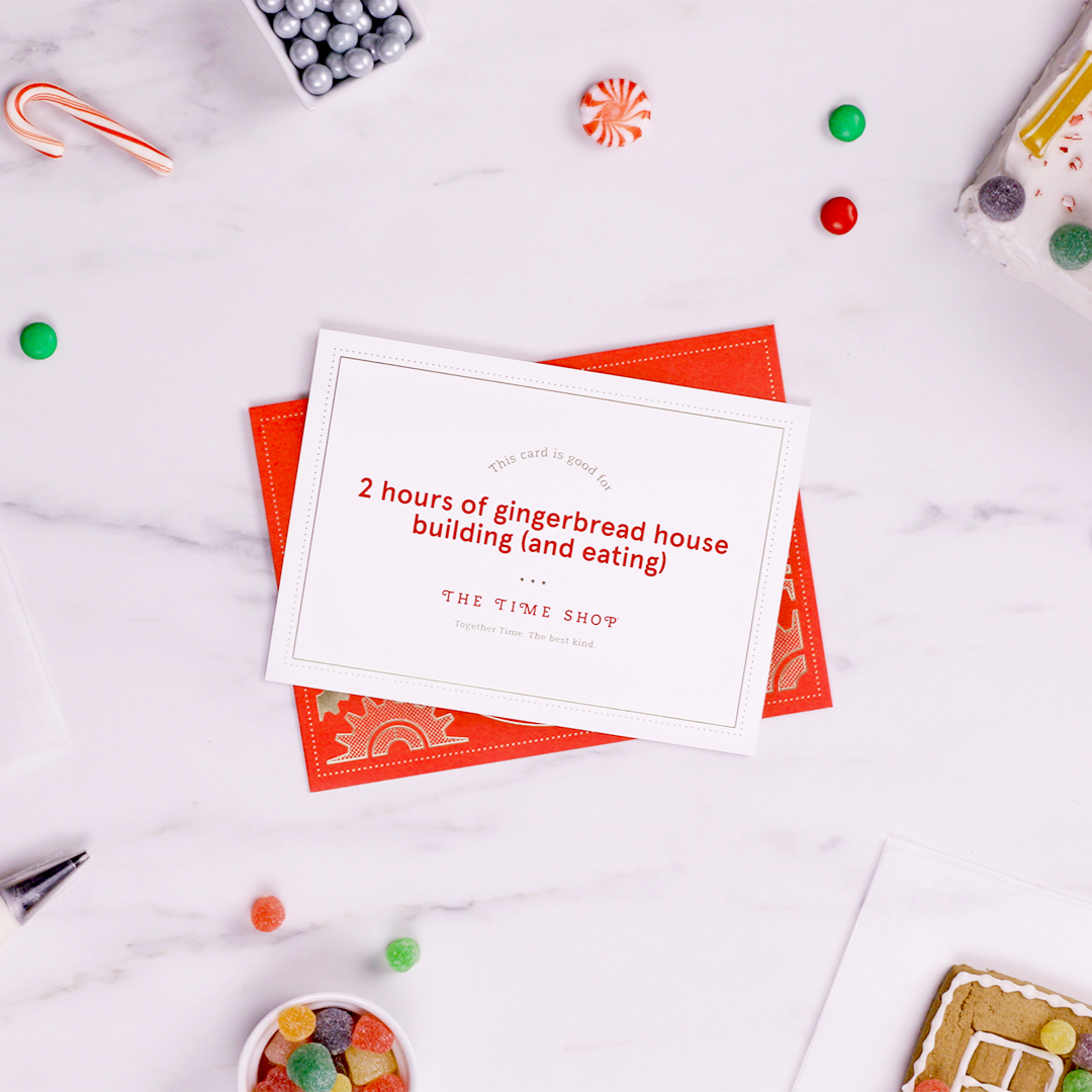 CFA together time card unique holiday gift