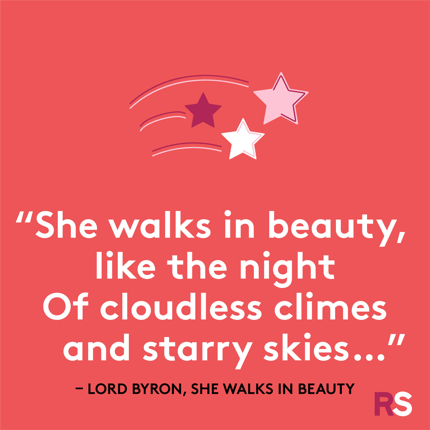 Love quotes, quotes about love - Lord Byron, She Walks in Beauty