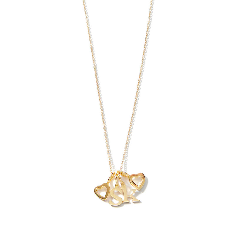 Sarah Chloe Love Count Multi Heart Necklace Mother's Day Gift