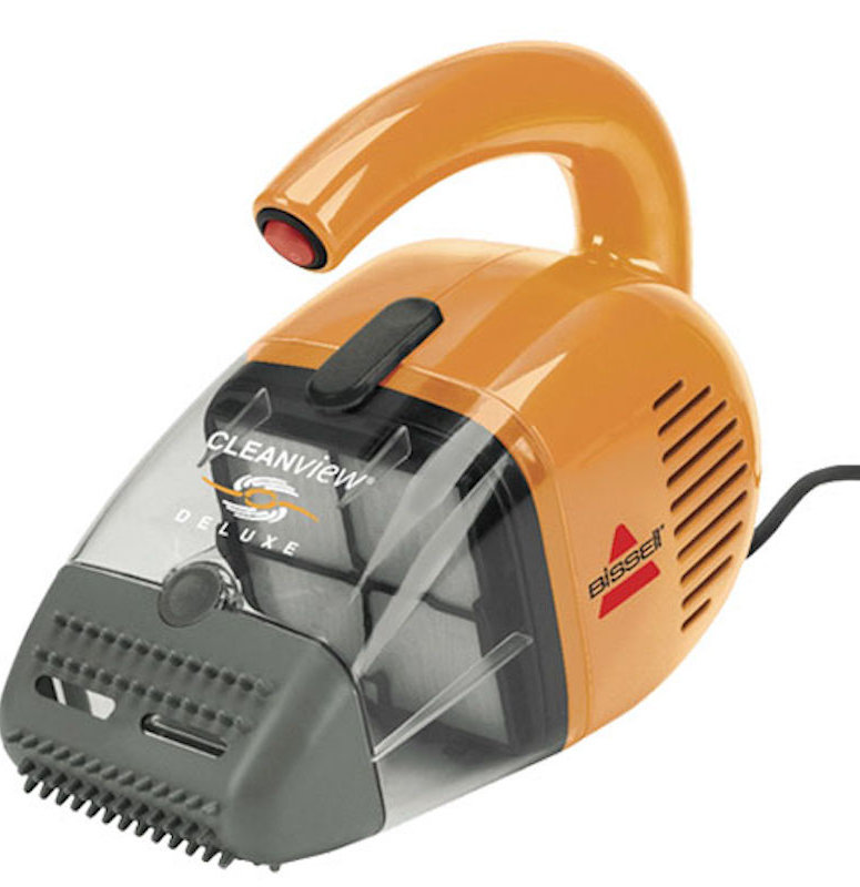 orange vacuum for pet fur