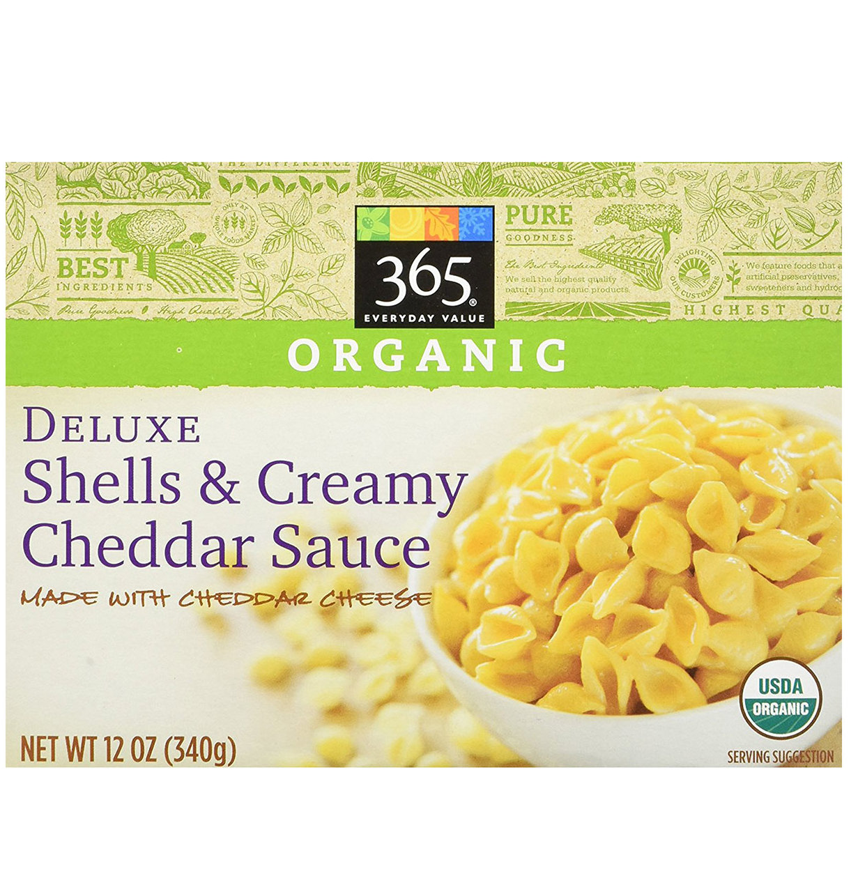 365 Everyday Value Organic Deluxe Shells 