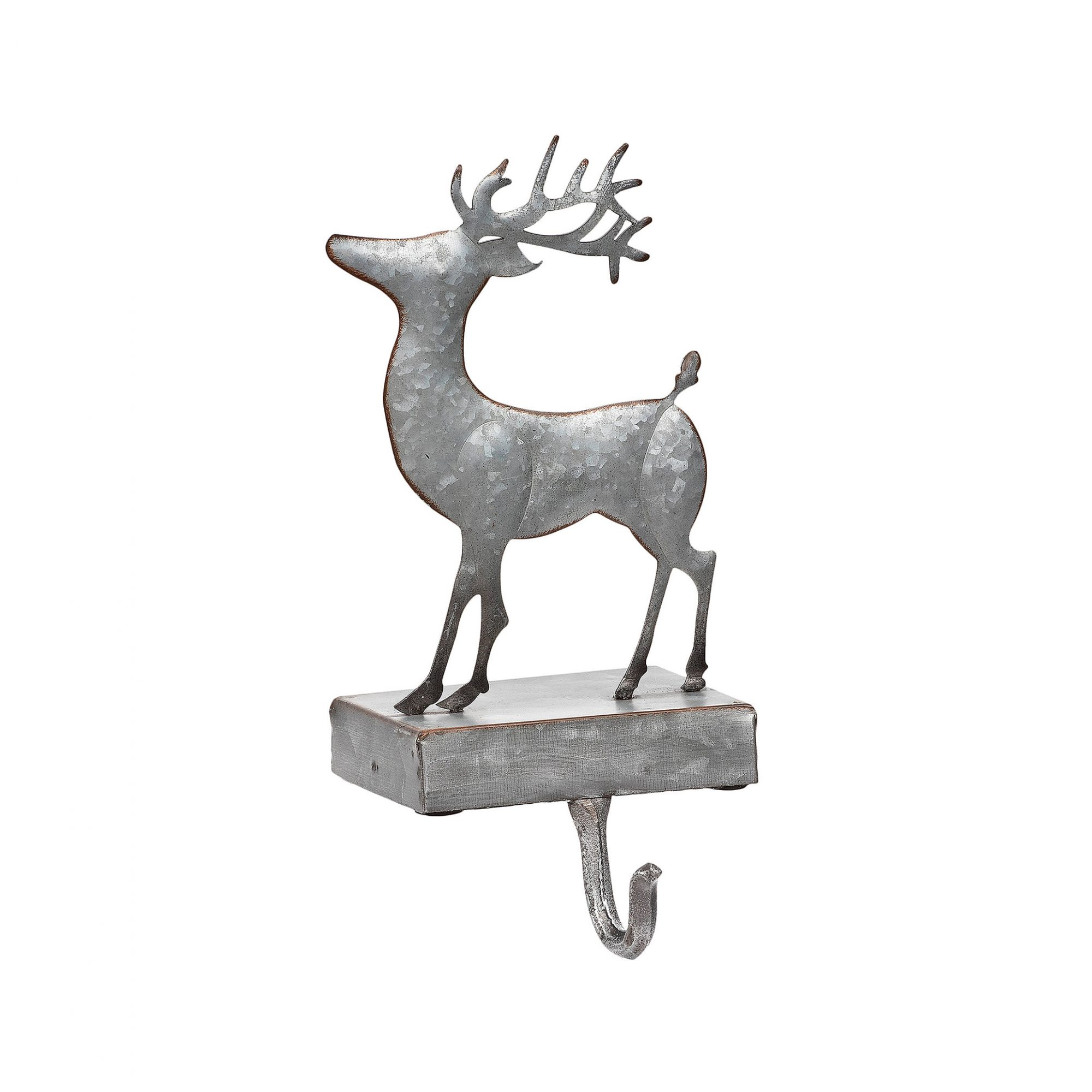 Christmas stocking holders - Kirkland's Metal Deer Stocking Holder