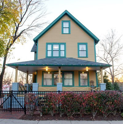 Christmas Story House.You Can Now Stay Overnight In The House From A Christmas