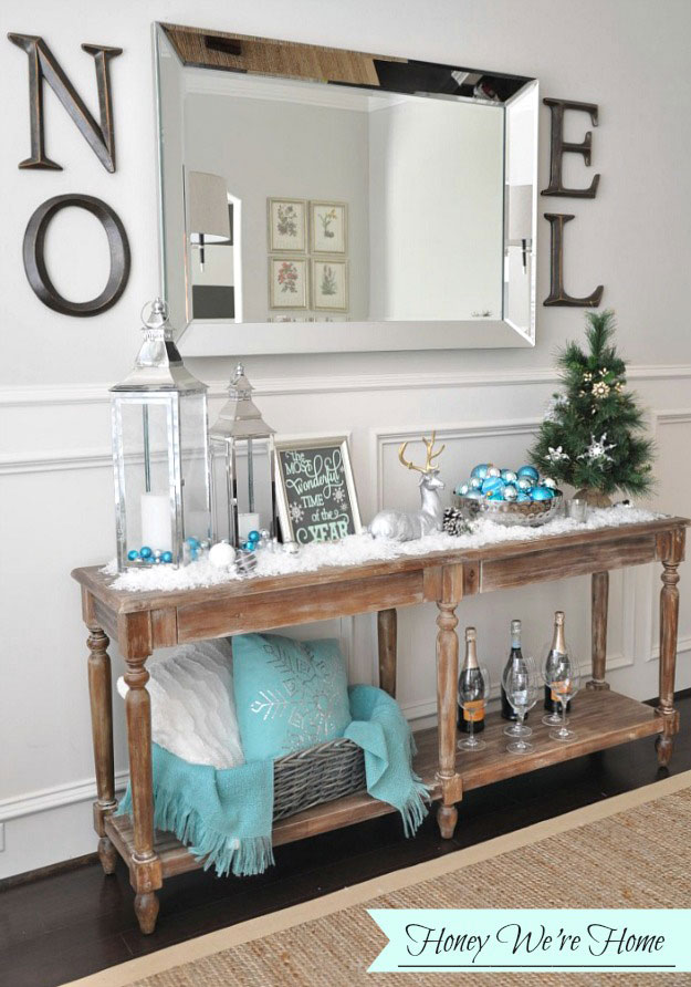 Console Table Mantel