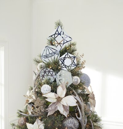 How To Make A Diy Tree Topper Real Simple